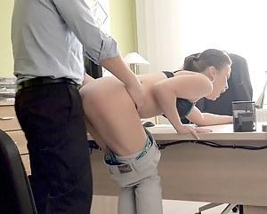 Girl office sex